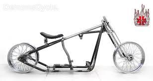 bobber springer 200 custom rolling chassis for harley davidson evo