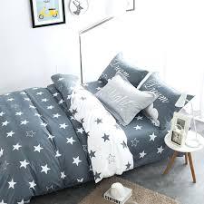 grey star duvet cover white and grey stars bedding sets cotton queen new design duvet cover grey star duvet