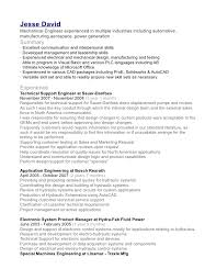 engineer resume format
