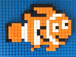 Lego Patterns Gorgeous Finding Dory Inspired Lego Mosaics