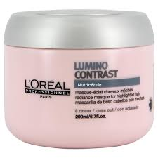 l oreal loreal expert lumino contrast mask 200ml conditionerasks women s cosmetics perfumery loreal foundation colors whole usa
