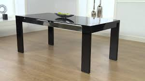 High Gloss Dining Table Cannes Black High Gloss Dining Table Ofstv Youtube