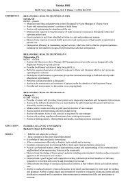 Behavioral Health Technician Resume Samples Velvet Jobs
