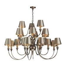 ens 21 light pendant bronze dic2163 no shades 7 10 day delivery