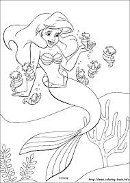 Little Mermaid Coloring Pages Printable Coloring Pages Coloring Pages