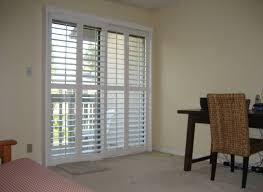 decoration best plantation shutters patio doors plantation shutters on inside shutters for sliding glass doors