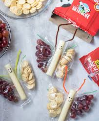 erfly snack bags with gs and ers and cheese stick