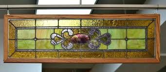 framed stained glass northern hardwood frames classic panel ideas window panels decorating small spaces on a budget ide