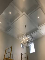 Office false ceiling Modern Coffered Ceilings Design Gallery Vip Classic Moulding 416 670 8000 With Ceiling Design Chernomorie Office False Ceiling With Ceiling Design Pictures Image 11 Of 20