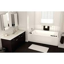 66 bathtub x x pose acrylic soaking bathtub 66 inch bathtub home depot