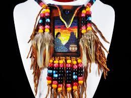 navajo bead designs. Plain Navajo Navajo Woman Beaded On A Rich Dark Saddle Deerskin Medicine Bag In Bead Designs