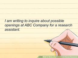 cover letter to human resources how to write a cover letter to human resources with sample cover
