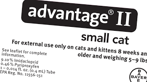Advantage Ii Dosage Chart For Cats Advantage Ii For Cats Dosage Fleascience