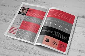 Resume Booklet Template Best of Creative Resume Booklet Resume Templates Creative Market
