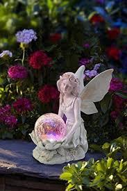 angel fairy figurine statue garden