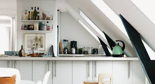 Attic Kitchen 29 Skylight Roof Windows As Amazing Illustration Of Home Design