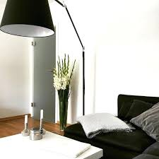 tolomeo mega floor lamp black finish on thanks to artemide australia