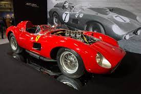 1957 1958 Ferrari 335 S Scaglietti Spyder Images Specifications And Information