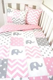 elephant nursery bedding patchwork quilt nursery set pink and grey elephants by baby boy elephant nursery
