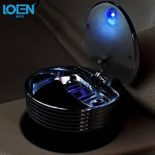 creative led lighting. Promo Durable Automotive Creative Car Ashtray Led Lighting Portable Travel Cigarette Ash Holder #led #
