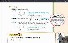lesson 7 1 writing and solving one step inequalities