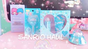 Sanrio hughug cinnamoroll plush is super kawaii!!! Kawaii Sanrio Haul Cinnamoroll Little Twin Stars Youtube
