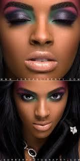 makeup for dark brown skin purple makeup colorful makeup pretty