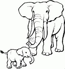 Small Picture Get This Printable Elephant Coloring Pages for Kids 689542