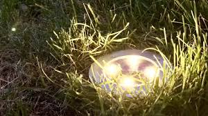 in ground lighting. Tomshine LED Solar Lights Outdoor Flush Pathway Ground Review In Lighting A