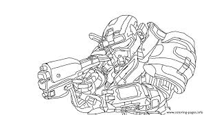 spartan coloring pages halo reach printable helmet for s