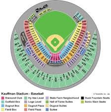 Royals Stadium Seating Chart Kauffman Stadium Seating Chart Kauffman Stadium Seating