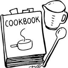 recipe book free clipart 1