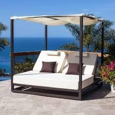 Modern outdoor daybed Intrabot Riviera Modern Outdoor Leisure Daybed With Canopy For Outdoor Daybed With Canopy Hub Modern Riviera Modern Outdoor Leisure Daybed With Canopy For Outdoor Daybed