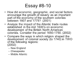 essay preparation colonial american issues ppt video online  44 essay