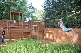 DIY Backyard Playground Sets