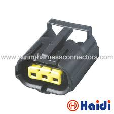 3 way female connector pa66 gf housing car wiring harness posi-lock connectors home depot at Car Wiring Connectors