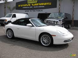 2000 Biarritz White Porsche 911 Carrera 4 Cabriolet #61907931 ...