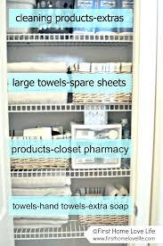 bathroom closet organization ideas. Fine Bathroom Linen Closet Organization Ideas Interesting Bathroom  Within Tricks How To In Bathroom Closet Organization Ideas A