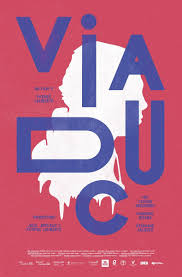 2 Color Poster Design Poster For Viaduc Communication Arts Typographic 2 Color