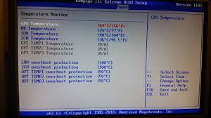 MY CPU TEMPS