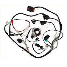 50 70 90 110 125cc mini atv complete wiring harness cdi stator complete electrics atv quad stator 50cc 70cc 110cc 125cc coil cdi wiring harness