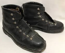 details about rare vtg macy s ny supre macy mountaineering hiking vibram ankle boots mens 10 5