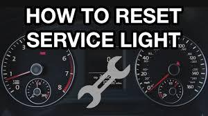 Vw Wrench Light How To Reset Vw Passat Service Light 2012 2016