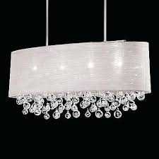 rectangular crystal chandelier kitchen island beaded toronto rectangular