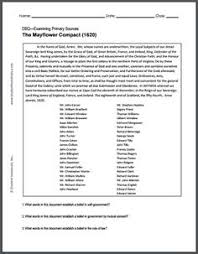 "get a copy of ""the flower compact"" the flower compact   flower compact 1620 dbq worksheet for high school u s history students"
