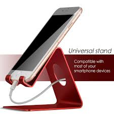 lamicall s1 cell phone stand for all smartphones red lamicall phone tablet stand
