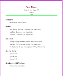 All Resume Format Free Download Blank Cv Format Free Download Resume For Freshers Sample Example