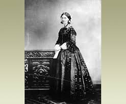 portrait of florence nightingale who went to turkey in november 1854 and worked at the army hospital at scutari