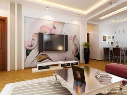 Wall Painting Design For Living Room Decorations For Living Room Walls Living Room Design Ideas