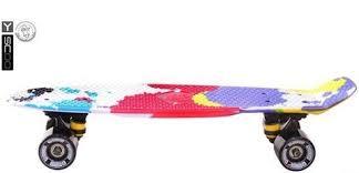 Детский <b>скейтборд</b> Y-Scoo <b>RT 401G</b>-<b>Sp Fishskateboard</b> Print 22 ...